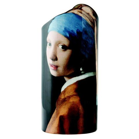 JOHN BESWICK SILHOUETTE D'ART VASE: Girl with the Pearl Earring by Vermeer