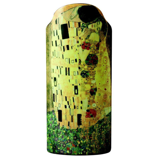 John Beswick Silhouette D'art Vase - The Kiss by Klimt