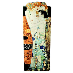 JOHN BESWICK SILHOUETTE D'ART VASE: Three ages of woman by Klimt