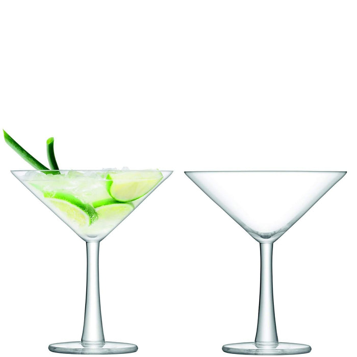 LSA International Gin Cocktail Glass 220ml Clear x2