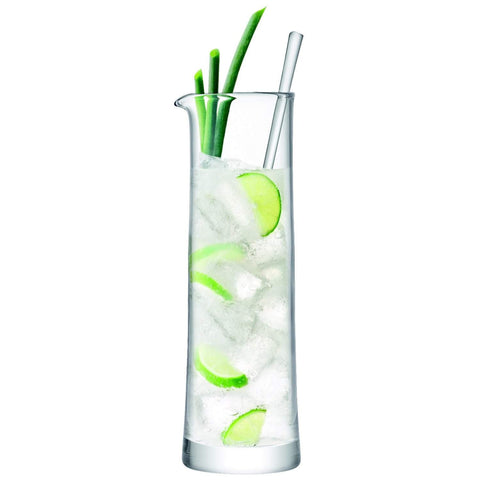 LSA International Gin Cocktail Jug & Stirrer 1.1L Clear