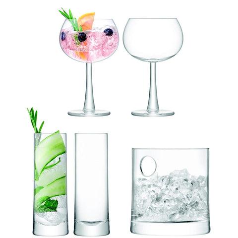 LSA International Gin Ice Set Clear
