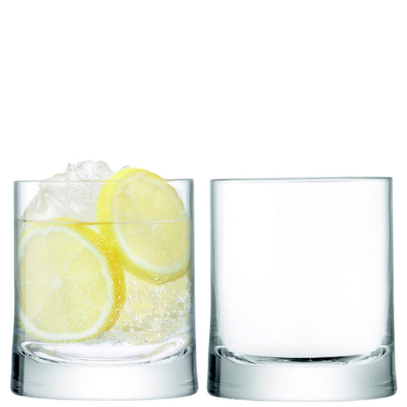 LSA International Gin Tumbler 310ml Clear x2