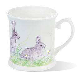 Mosney Mill Edgar Green Rabbit China Mug