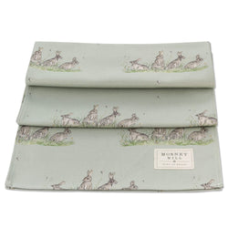 Mosney Mill Edgar Green Rabbit Table Runner