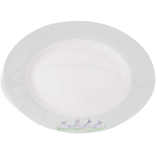 Mosney Mill Edgar Green Side Plate (White)