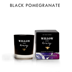Willow and Honey Soy Candle Black Pomegranate 60g