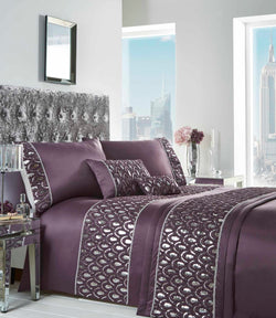 Crystal Duvet Set Super King Amethyst