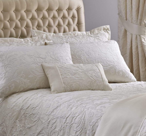 Spencer Boudoir Cushion Ivory