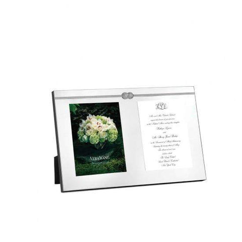 Vera Wang Infinity Double Invite Photo Frame