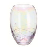 Dartington Crystal Glitz Allure Small Barrel Vase