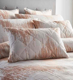 Quartz Boudoir Cushion Rose Gold