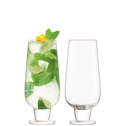LSA International Rum Mixer Glass 550ml Clear x 2