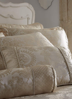 Sandringham Cushion Ivory
