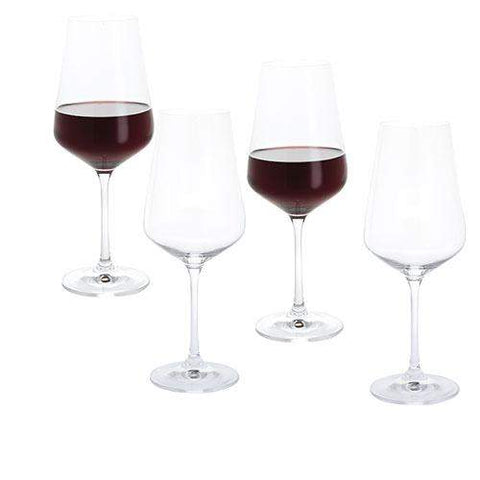 Dartington Crystal Cheers! Red Wine Four Pack