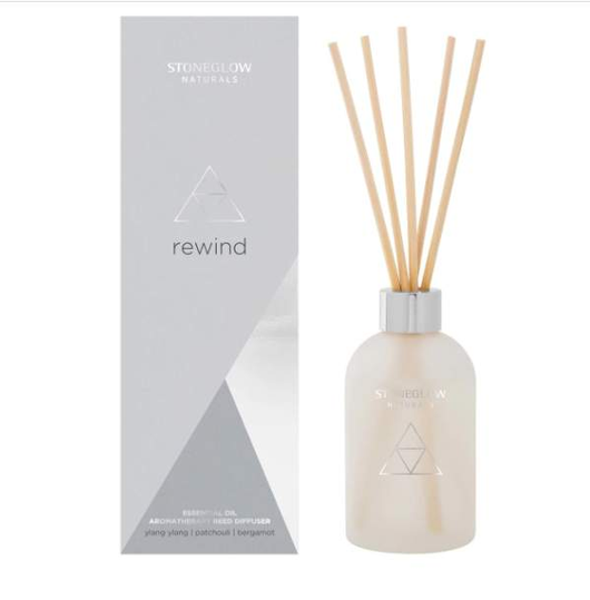 Stoneglow Naturals - Rewind Reed Diffuser