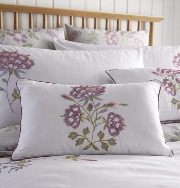 Secret Garden Boudoir Cushion Lavender
