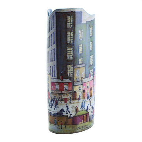 Silhouette d'art Vases - Lowry Coming from the Mill