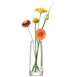 LSA International Stems Bud Vase H16cm Clear