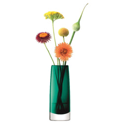 LSA International Stems Bud Vase H16cm Marine Green