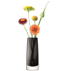 LSA International Stems Bud Vase H16cm Slate