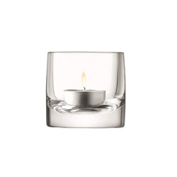 LSA International Stems Tealight Holder H7cm Clear