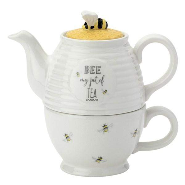 English Tableware Co Bee Happy Tea for One