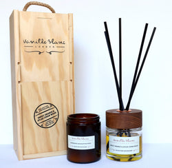 Vanilla Blanc Apothicaire Diffuser Gift Set - Sweet Orange
