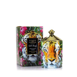 Ashleigh & Burwood Wild Things Candle Croaching Tiger - Beramot, Mandarin, Sandalwood