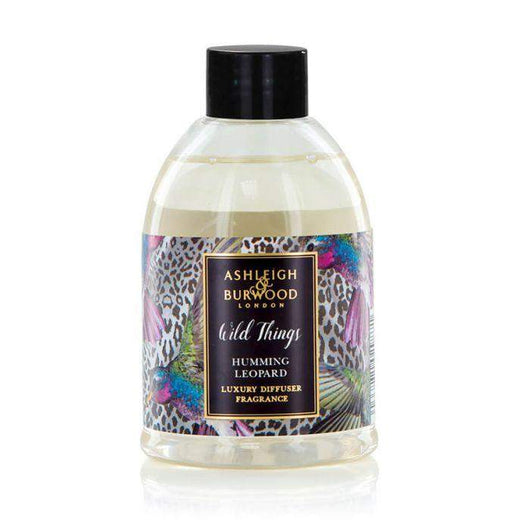 Ashleigh & Burwood Wild Things Diffuser Refill Humming Leopard - Raspberry, Rose, Musk