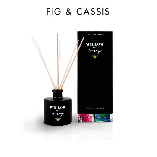 Willow and Honey Luxury Reed Diffuser Fig & Cassis 200ml