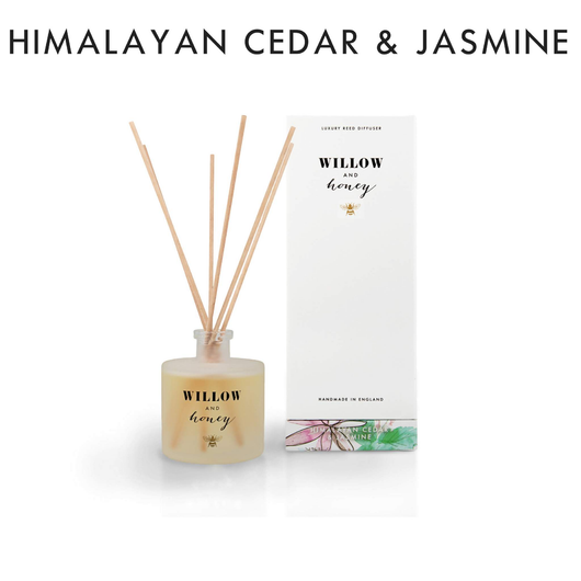 Willow and Honey Luxury Reed Diffuser Himalayan Cedar & Jasmine 200ml