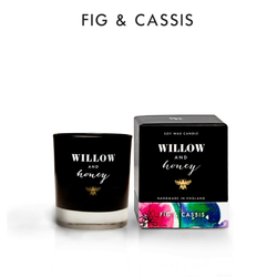 Willow and Honey Soy Candle Fig & Cassis 60g