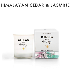 Willow and Honey Soy Candle Himalayan Cedar & Jasmine 60g