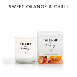 Willow and Honey Soy Candle Sweet Orange & Chilli 60g