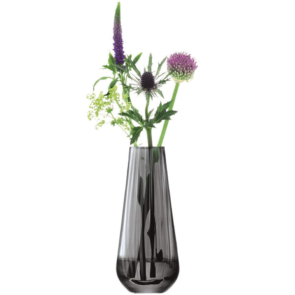 LSA International Zinc Vase H18cm Sheer Zinc