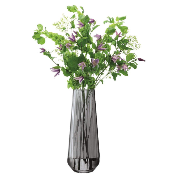 LSA International Zinc Vase H36cm Sheer Zinc