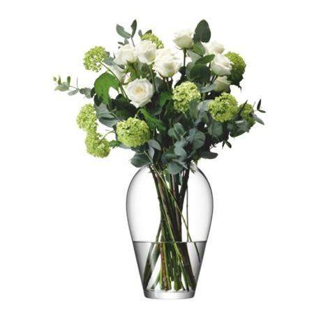 LSA Flower Grand Bouquet 35cm Vase - Clear