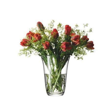 LSA Flower Open Bouquet 23cm Vase - Clear