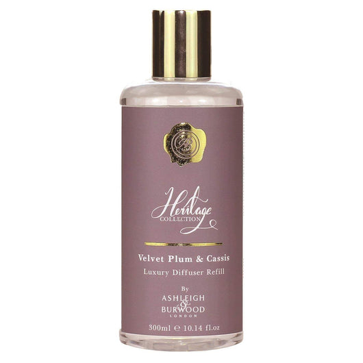 Ashleigh & Burwood The Heritage Collection Diffuser Refill - Velvet Plum & Cassis