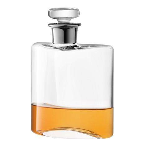 LSA Flask Decanter 0.35L- Clear/Platinum