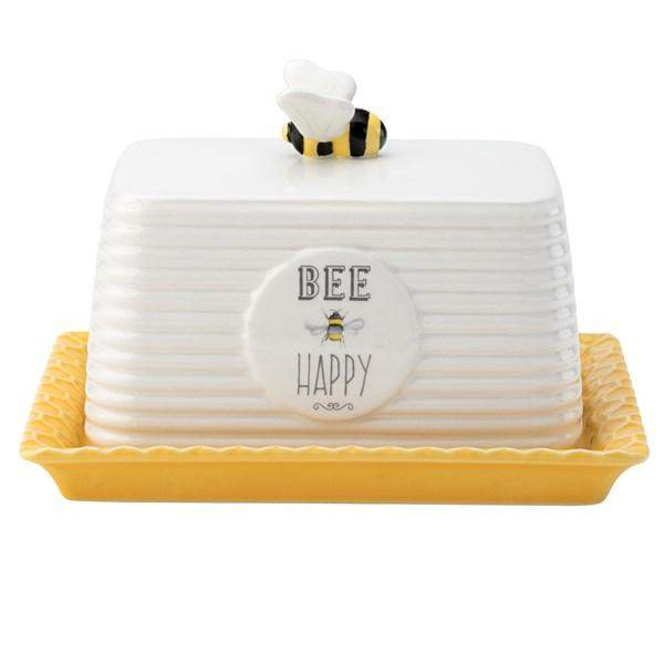 English Tableware Co Bee Happy Butter Dish