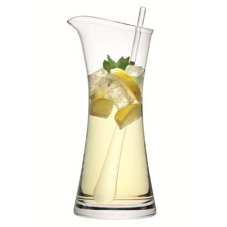 LSA Bar Cocktail Jug & Stirrer 1.2L - Clear