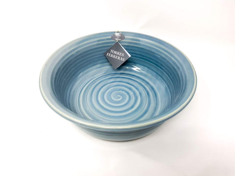 Divine Distribution Torres Ferreras Conical Deep Salad Bowl 25cm - Cielo