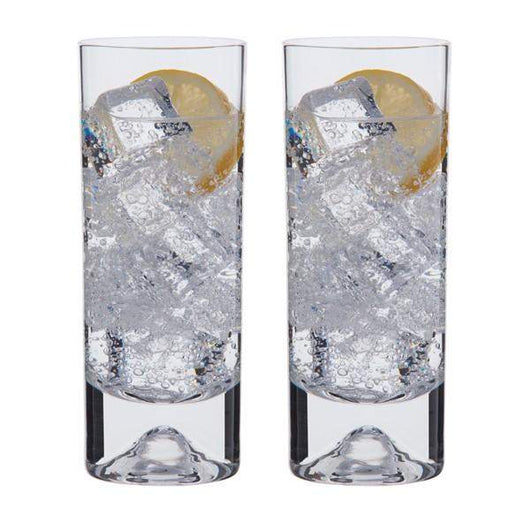 Dartington Dimple - Highball Glasses - Pair