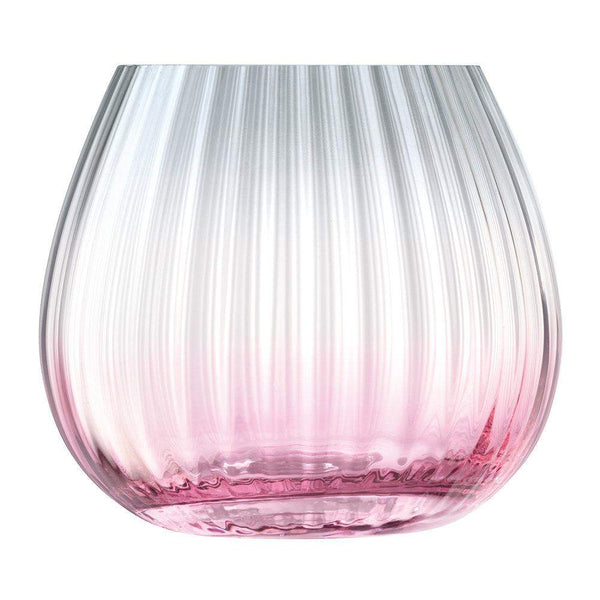 LSA International Dusk Lantern Vase Pink Grey