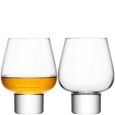 LSA Madrid Brandy Glasses 460ml - Clear - Pair