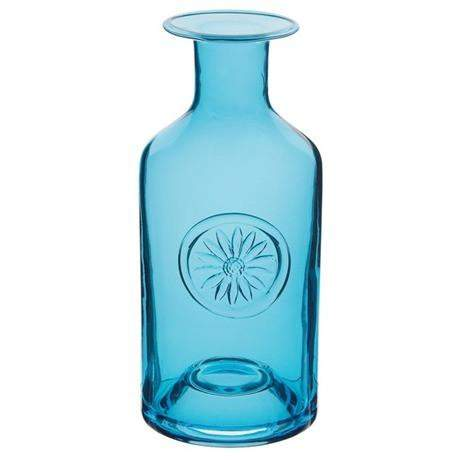 Dartington Flower Bottle - Daisy Turquoise