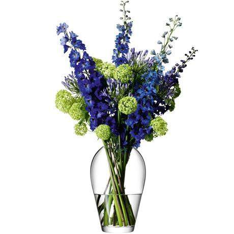 LSA Flower Garden Bouquet 25cm - Clear