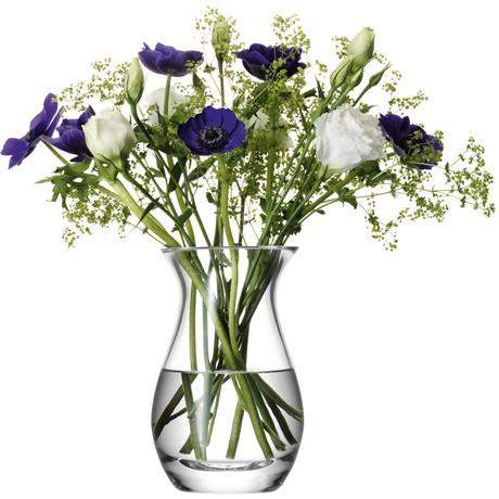 LSA Flower Grand Posy Vase 32cm - Clear